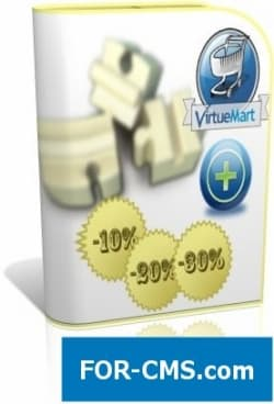 Discount from order value for Virtuemart3