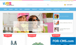 JM Kids Fashion для joomla 3