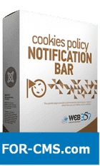 Cookies Notification Bar PRO - the notice of Cookie in Joomla