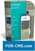 JUX CSS3 Mega Menu - Joomla menu CSS3