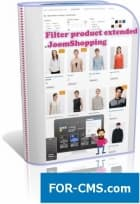 Filter product extended - the JoomShopping filter
