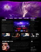 ZT Zoo v2.5.0 - шаблон сайта ночного клуба для Joomla