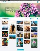 ZT Ence v1.0.5 - adaptive template for the photographer (Joomla)