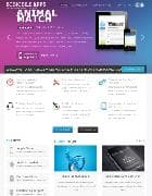 BT Mobile Apps v1.0 - шаблон сайта мобильных приложений для Joomla