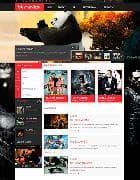 BT Movies v1.0 - шаблон кино сайта для Joomla