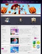 VT Artworks v1.0 - шаблон сайта художника