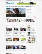 VT News v1.0 - новостной шаблон для Joomla