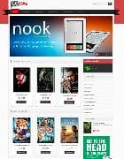 VT Ebooks v1.1 - шаблон интернет магазина книг для Joomla