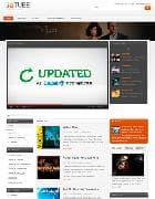 JA Tube v1.0 - Joomla шаблон для видео сайта