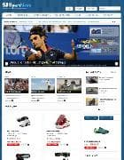 SJ Sport News v1.1 - template of sports online store for Joomla