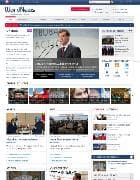 SJ WorldNews v2.2.0 - новостной шаблон для Joomla