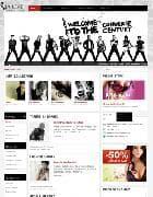 JA Lead v1.0.1 - шаблон модного журнала для Joomla