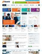 SJ Financial v1.1.2 - финансовый шаблон для Joomla