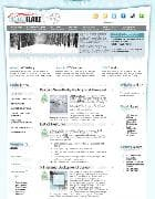 Hot Snowflake v1.6 - шаблон для Joomla