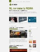 JA Mona v1.0 - шаблон персонального блога для Joomla