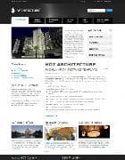 Hot Architecture v3.0 - архитектурный шаблон для Joomla