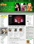 Hot Rockin v1.6 - музыкальный шаблон для Joomla