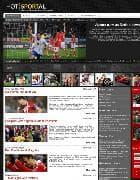 Hot Sportal v1.6 - спортивный шаблон для Joomla