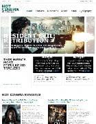 Hot Cinema v1.0 - шаблон кино сайта для Joomla