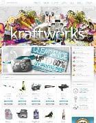 JXTC Kraftwerks v2.0.5 - дизайнерский интернет магазин для Joomla