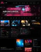 JXTC Clublife v3.4.0 - шаблон сайта о клубной жизни для Joomla