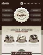 JXTC Barista v3.4.0 - шаблон сайта кофейни для Joomla