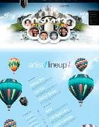 JXTC Dub 2 v3.4.0 - шаблон сайта музыкального фестиваля (Joomla)