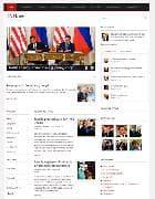 JA Rave v2.5.3 - шаблон блога о политике для Joomla