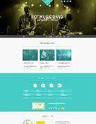 Hot Music Band v1.0.1 - шаблон сайта музыкальной группы (Joomla)