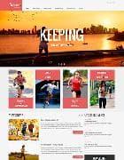 VT Running v1.2 - шаблон сайта о блоге для Joomla