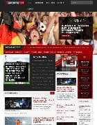 Shaper SportsOn v1.5 - спортивный шаблон для Joomla