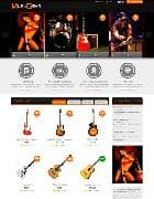 SJ Muzik v1.3.1 - musical template for Joomla