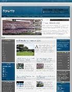 IT Sporty v1.0 - шаблон спортивного блога для Joomla
