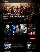Shaper Vocal v2.1 - шаблон сайта рок группы (Joomla)