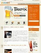 BT Creative v2.5.0 - шаблон блога для Joomla, стакан пива