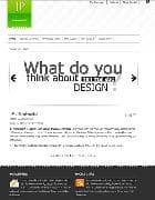 JP Minimalist v2.5.001 - минималистичный шаблон для Joomla