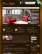 JP Real Estate v3.0.002 - шаблон с красной мебелью для Joomla