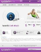 BT Woovie v2.5.0 - шаблон сайт по поиску музыки для Joomla