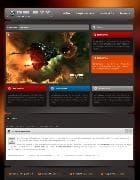 BT Galaxy v2.5.0 - игровой шаблон для Joomla