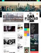 JXTC Urban Life v3.4.0 - шаблон городского сайта для Joomla