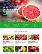 Shaper Organic Life v1.8 - шаблон сайта о фруктах для Joomla