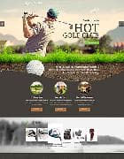 Hot Golf v1.0 - website template golf of club for Joomla