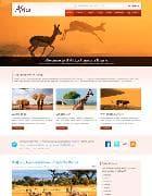 IT Africa v1.0 - шаблон сайта об Африке для Joomla