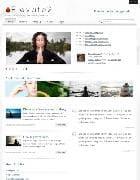 JB Elevate2 v1.0.8 - шаблон блога для Joomla : цигун, рейки, йога
