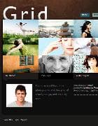 JB Grid v1.0.9 - шаблон фото блога для Joomla