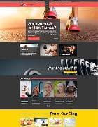 Hot Fitness v1.0 - фитнес шаблон для Joomla