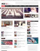 OT Vozzmag v1.0 - новостной шаблон для Joomla