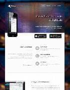 TX Photon v1.2 - сайт мобильного приложения под Joomla