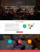 TX Eventx v1.0 - шаблон сайта мероприятия для Joomla