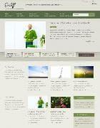 JB Ecolift v1.1.6 - прекрасный зеленый шаблон для Joomla